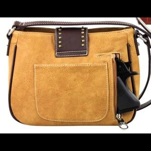 Montana West Bags - Montana West USA Messenger Crossbody Bag